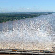 El lago a menos de 30 metros no puede estar, porque no está preparada la represa y corre riesgo estructural