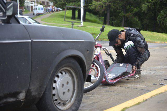 Una bajada en triciclo con Juan Pablo Galiussi y sus historias
