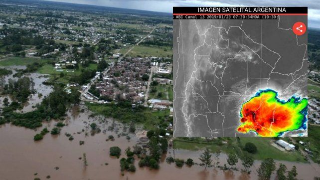 Renovaron el alerta meteorológico para una parte de Entre Ríos y provincias aledañas