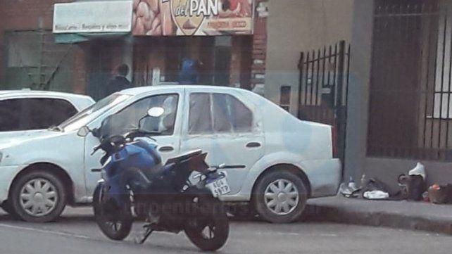 Hombre en situación de calle amenazaba a transeúntes frente al hospital San Martín