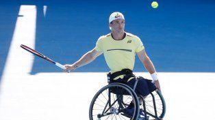 Gustavo Fernández se metió en la final de tenis adaptado