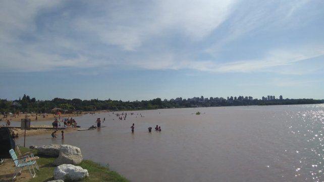 Paraná desde el Thompson.