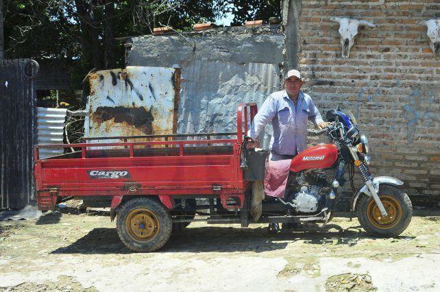 Inclusión. Ángel Martínez es uno de los primeros beneficiarios y destacó cómo cambió su vida para bien.