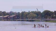 el uruguay desciende y ahora crece el rio parana