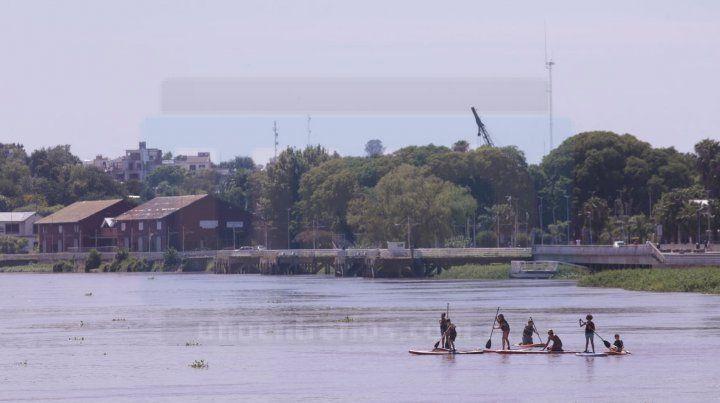 El Uruguay desciende y ahora crece el río Paraná