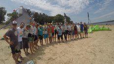 La playa pública del Espigón I está en perfectas condiciones para poder practicar la disciplina náutica.
