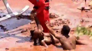 Brasil: cedió una represa, el lodo arrasó con un pueblo y hay 200 desaparecidos