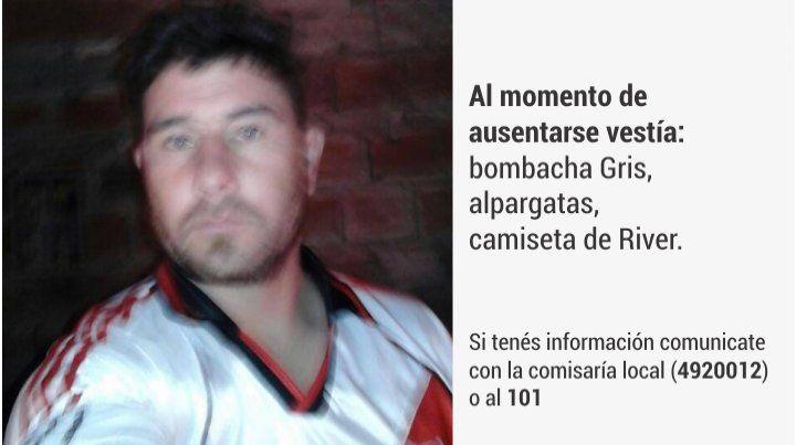 Buscan con desesperación  a Humberto Guillermo Cabrera