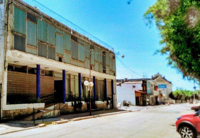 Fiscalía. En la sede de los tribunales de Rosario del Tala se lleva adelante la investigación.