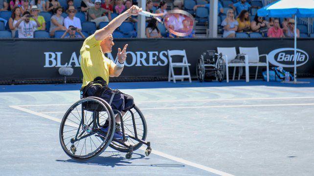 Gustavo Fernández repitió en Australia y festejó su tercer Grand Slam