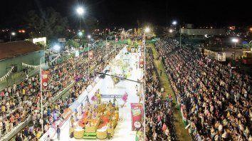 Buen inicio. El carnaval se extenderá todos los fines de semana, hasta los feriados de inicios del mes de marzo.
