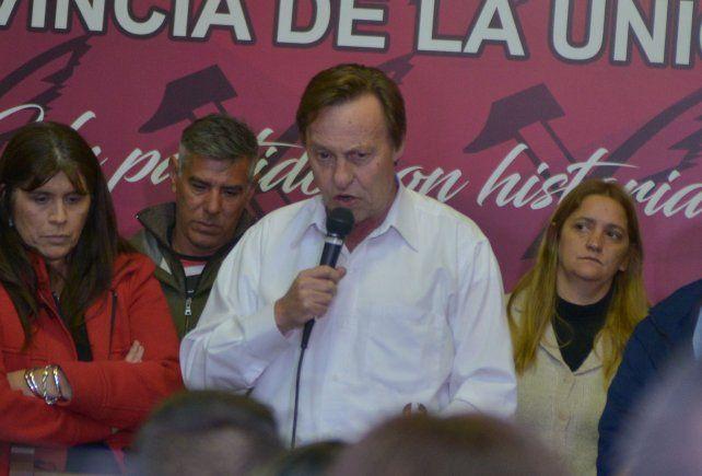 El intendente Sergio Varisco recibió el alta en la Fundación Favaloro