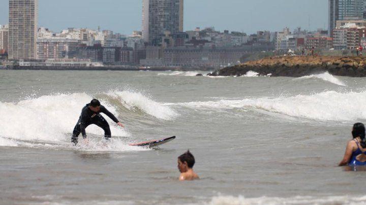 El surf requiere disciplina.