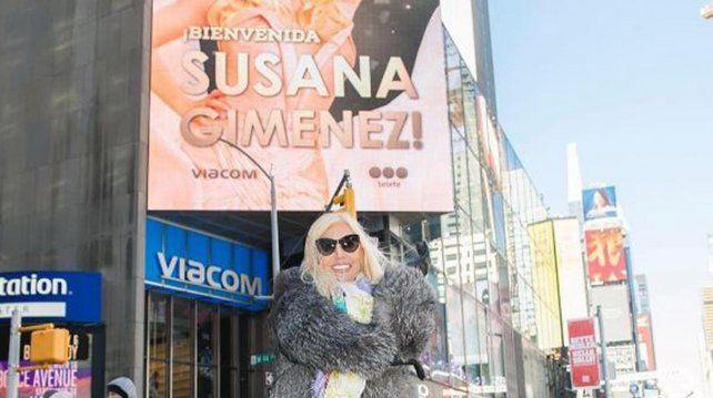 Susana en New York.