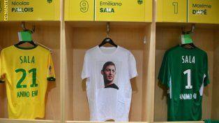Emiliano Sala, presente en las camisetas del Nantes