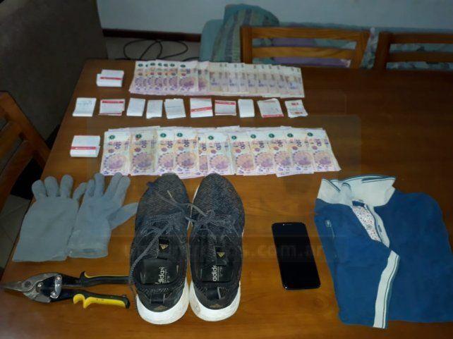Una cámara permitió ubicar a boqueteros que robaron en un taller textil