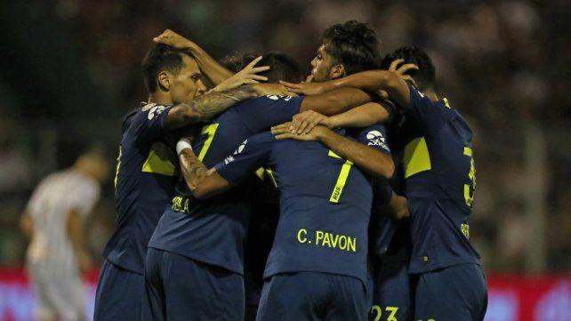 Boca goleó en San Juan y es la primera alegría para Alfaro