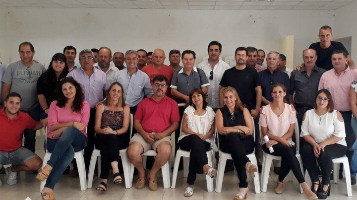 Peronistas de Cambiemos destacan el apoyo de Macri y Frigerio  a la provincia