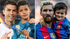 video | thiago messi vs. cristiano junior