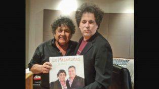 Andrés Calamaro y Los Palmeras grabaron juntos