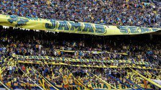La prohibición para los 168 seguidores de Boca fue publicada hoy por el Boletín Oficial.