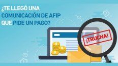afip advirtio sobre estafas a traves de internet