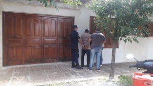 Sospechoso. El acusado hoy fue detenido, luego de dos meses de investigación.