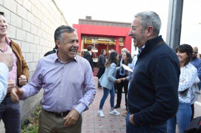 Cornejo definió el candidato para la sucesión en acuerdo con Cleto Cobos.