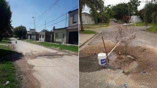 Alarma la proliferación de caños rotos en distintos barrios de Paraná