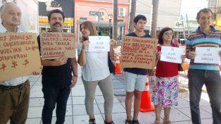Polémica por la extracción de palmeras de la Peatonal de Paraná