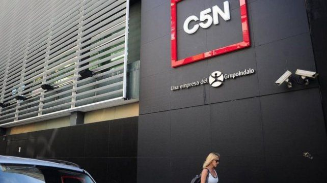 Bloquean una cuenta creada para pagar los sueldos en C5N: Quieren cerrar el canal