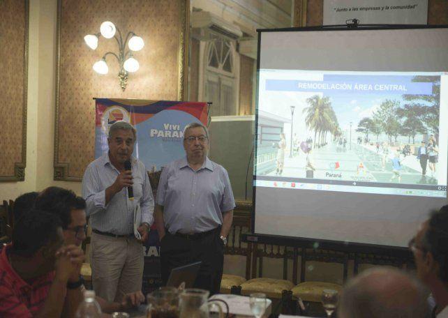 Nueva peatonal: presentaron el proyecto a las entidades comerciales y turísticas