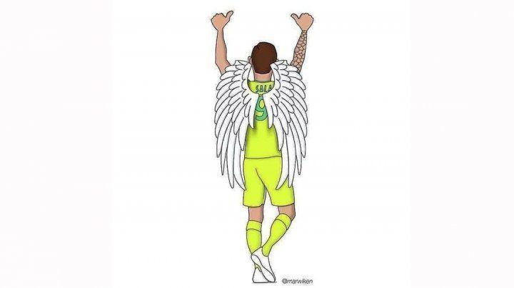 Despiden a Emiliano Sala y expresan condolencias a sus familiares en las redes
