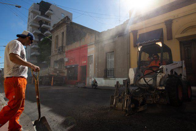 Avanzan las obras viales en distintos puntos de la ciudad