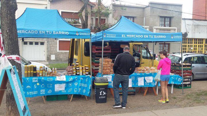 El Mercado en tu Barrio este sábado estará en plaza Sáenz Peña