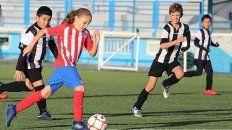 la argentina de 10 anos que brilla en el atletico madrid