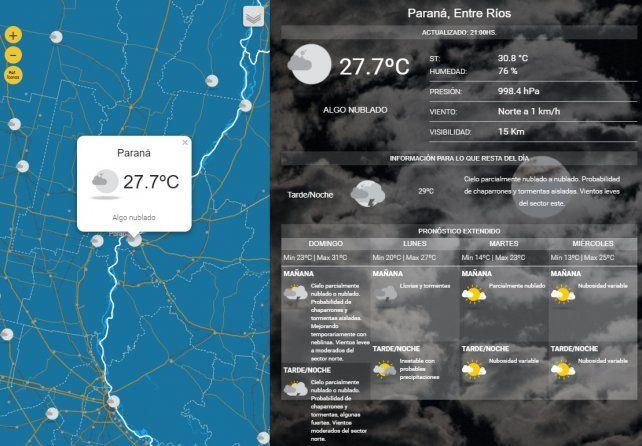 Locales: Un jueves agradable con una máxima de 33ºC
