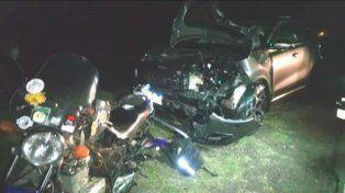 Dos motociclistas murieron en un accidente en la Ruta 18