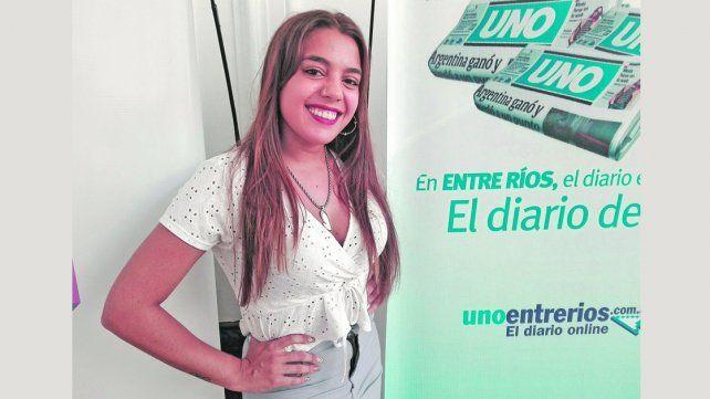Agustina Barrio: Pasional protagonista del Carnaval de Concordia