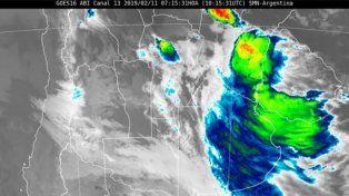Entre Ríos incluida en tres de los cuatro alertas meteorológicos del SMN