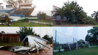 Frente de tormenta en Entre Ríos provoca serios destrozos