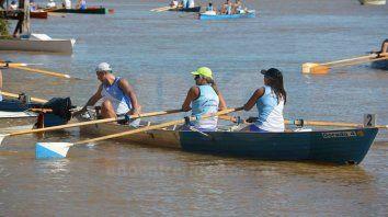 campeonato argentino de remo: preparan con todo la  doble vuelta del ocho