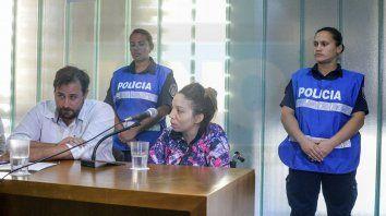 la madrastra de nahiara fue imputada y enviada a la carcel