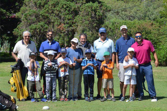 Proyecto con los chicos y el golf en Estudiantes