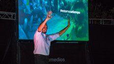 Weiss, presentó su plataforma el sábado en Colonia Avellaneda.