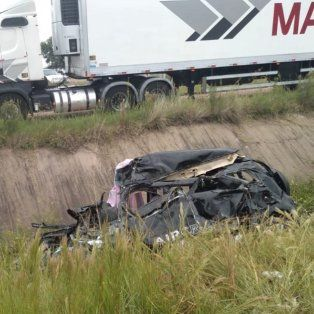 Fatal accidente en la Autovía Artigas: están graves las tres hijas del matrimonio fallecido