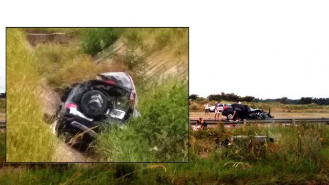 Trasladaron a La Plata a una de las nenas del accidente en Chajarí en el que murieron sus padres