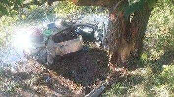 murio un chico de 14 anos en un accidente en la ruta 12