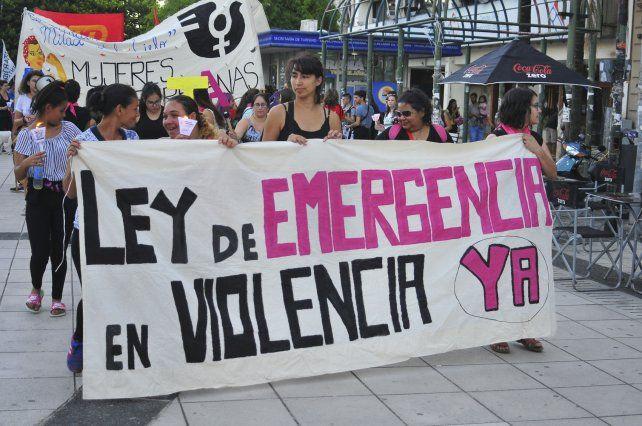 El colectivo feminista denunció que el presupuesto nacional para cada mujer es de 11
