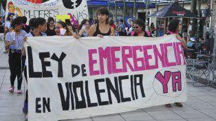 El colectivo feminista denunció que el presupuesto nacional para cada mujer es de 11,35 pesos.